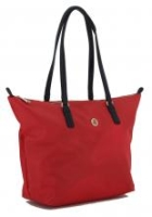 Tommy Hilfiger Shoppertasche Poppy Tote Barbados Cherry rot