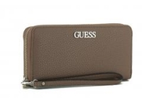 Portmonee lang Handschlaufe Guess Alby SLG Taupe