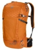 Sportrucksack orange Gittermuster Jack Wolfskin Kingston 22 Pack